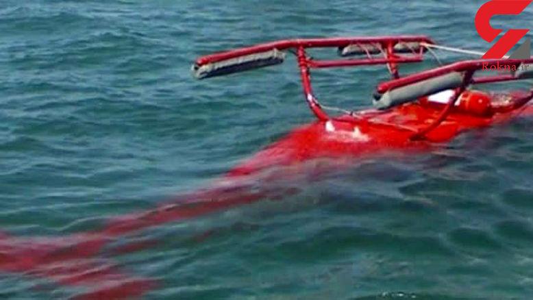 سانحه هوایی: سقوط بالگرد در آب