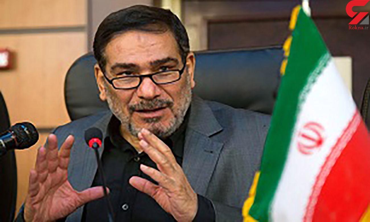 توضیحات شمخانی درباره تحریم تسلیحاتی ایران توسط آمریکا
