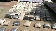 کشف ۳.۵ تن مواد مخدر از سوداگران مرگ در خراسانجنوبی