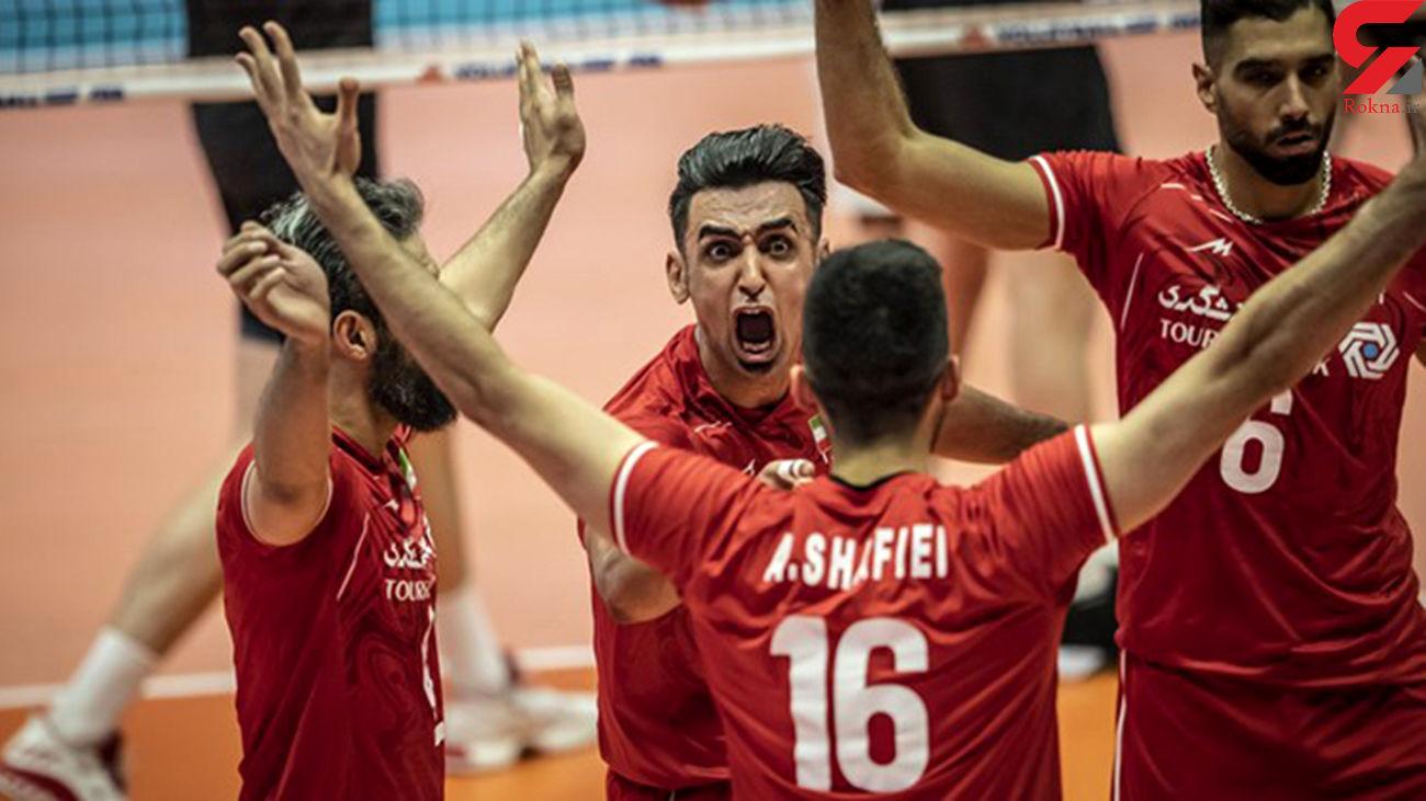فدراسیون جهانی والیبال اعلام کرد؛ ایران به فینال لیگ ملتها صعود کرد
