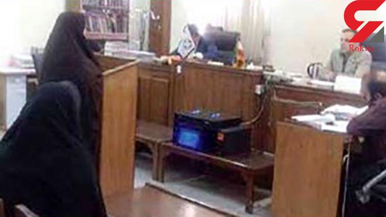 زن پلید تهرانی تا یک قدمی اعدام رفت + عکس