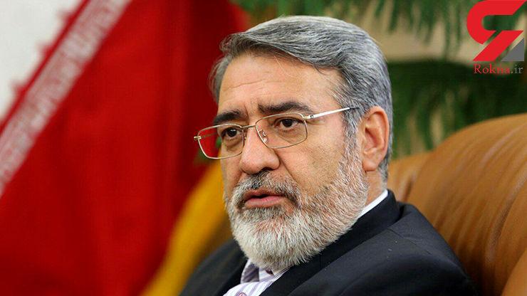 وزیر کشور: مردم ایران از هر قوم و مذهبی برابرند و با تمام وجود از ایران دفاع میکنند