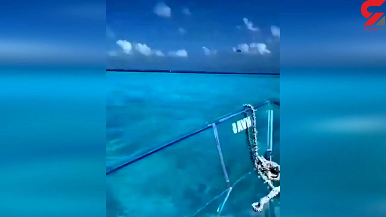 شفاف ترین قایق را مشاهده کنید + فیلم