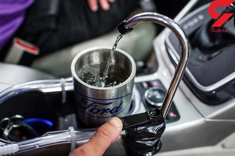 فورد از سیستم تهویه خودرو، آب آشامیدنی تولید میکند