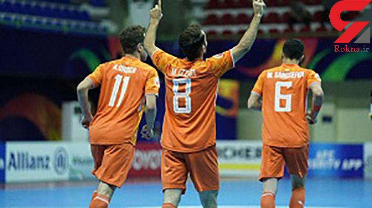 طوفان مس در جام باشگاه های فوتسال آسیا/ قرقیزستانی ها در هم کوبیده شدند