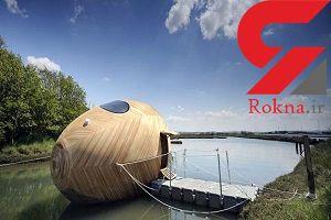خانه های شناور رویایی روی آب + تصویر