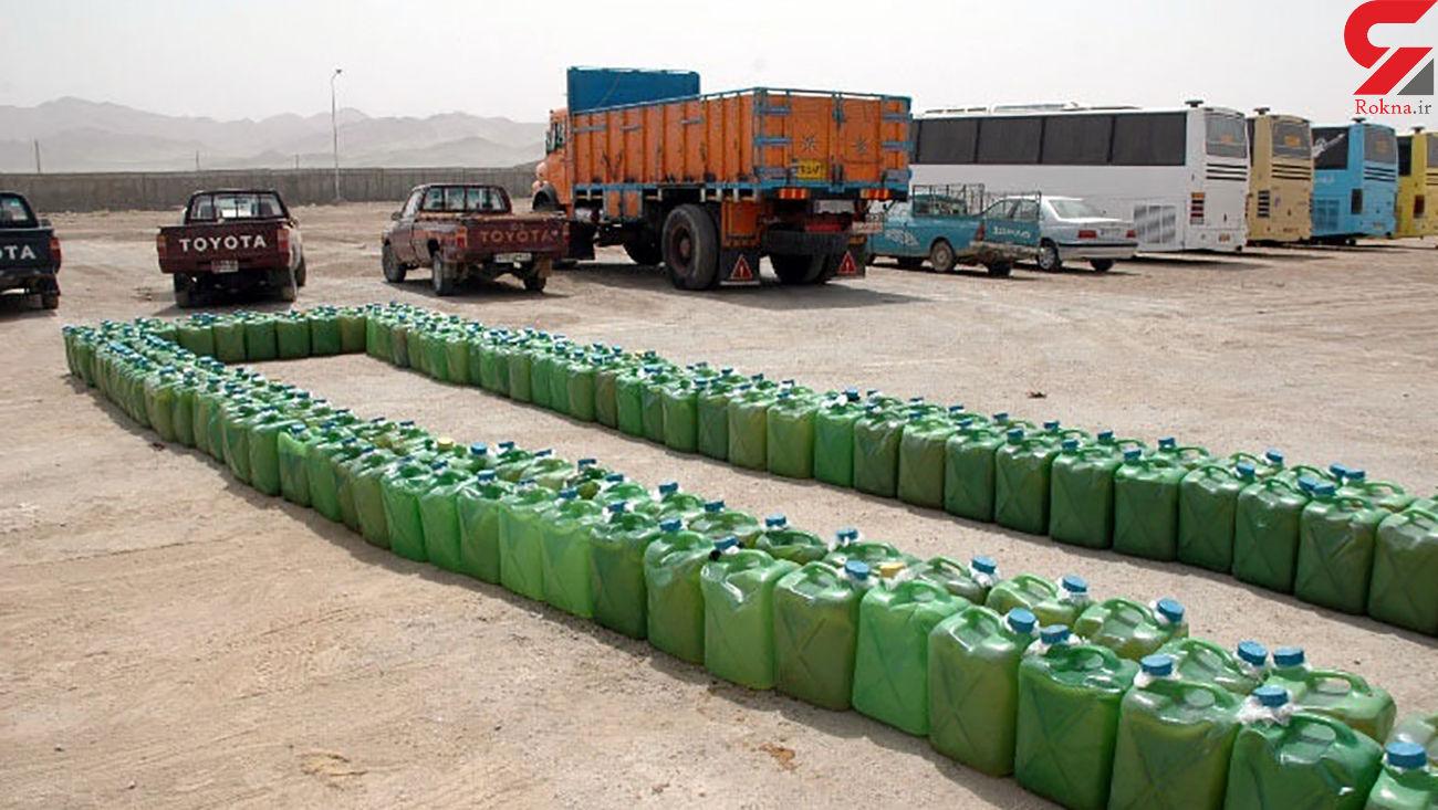 کشف 100 هزار لیتر گازوئیل قاچاق در میناب
