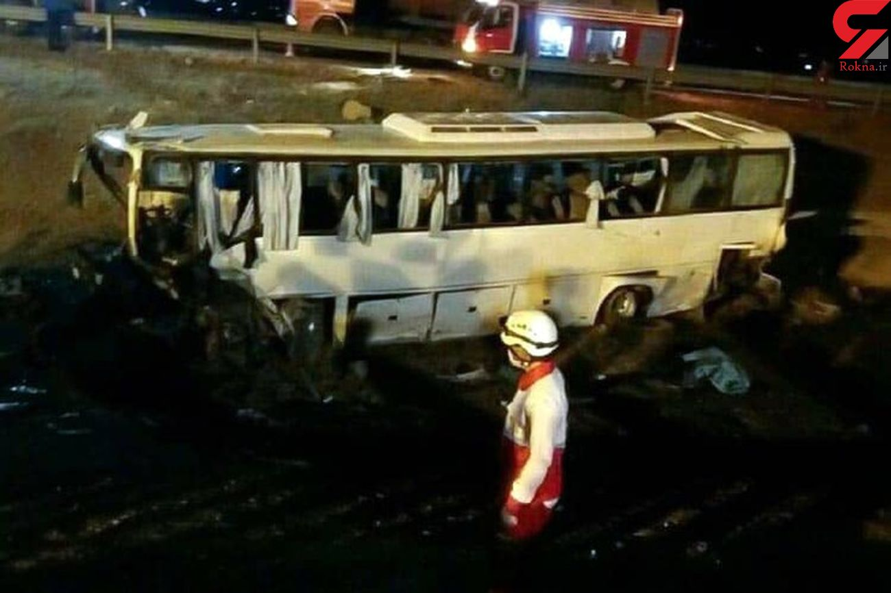علت تصادف اتوبوس ایران خودرو در نیشابور مشخص شد