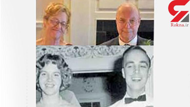 2 همکلاسی  بعد از 57 سال بهم رسیدند+ عکس