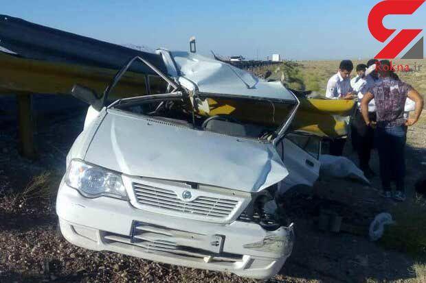 تصادف پرادو با 2 پراید فاجعه آفرید/ 10 کشته و زخمی در کوهدشت