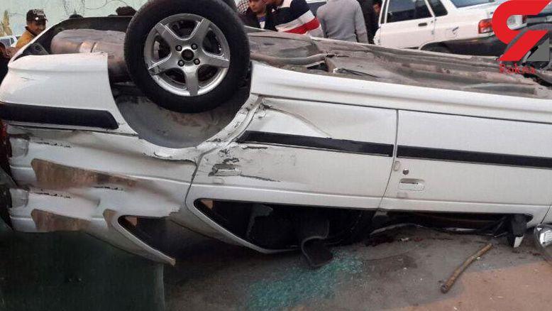 واژگونی 2 خودرو با 7 مصدوم در نایین