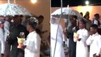 ازدواج 2 پسر جوان با یکدیگر در مکه + فیلم و عکس جشن عروسی