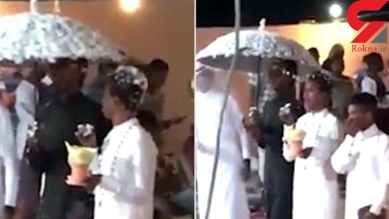 جشن عروسی جنجالی 2 پسر با هم در مکه + فیلم و عکس