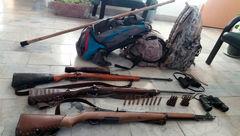 بازداشت ۷ شکارچی غیر مجاز در منطقه حفاظت شده سهند