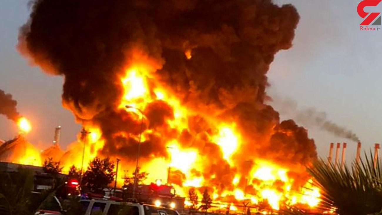 جزئیات جدید از حادثه حریق در پالایشگاه نفت تهران