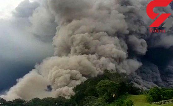 """اولتیماتوم """"فوران خطرناک"""" با فعال شدن آتشفشانی در فیلیپین"""