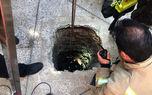 کشف جنازه مرد همدانی در عمق چاه 40 متری + عکس