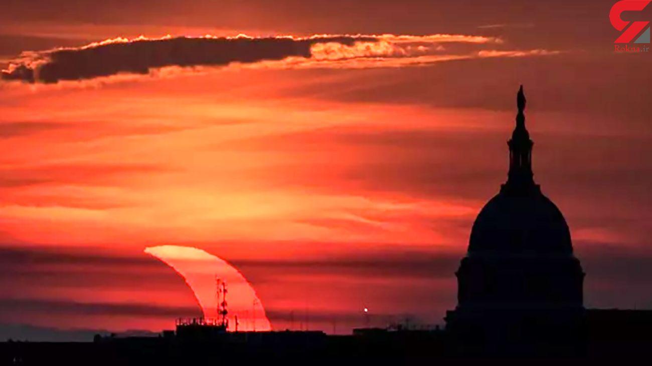 عکس های زیبا از اولین خورشیدگرفتگی سال 2021