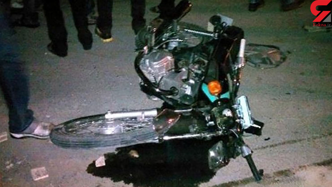 تصادف مرگبار موتورسیکلت در محور خفر-جهرم با 2 کشته