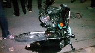 تصادف خونین موتورسیکلت و وانت در بابل