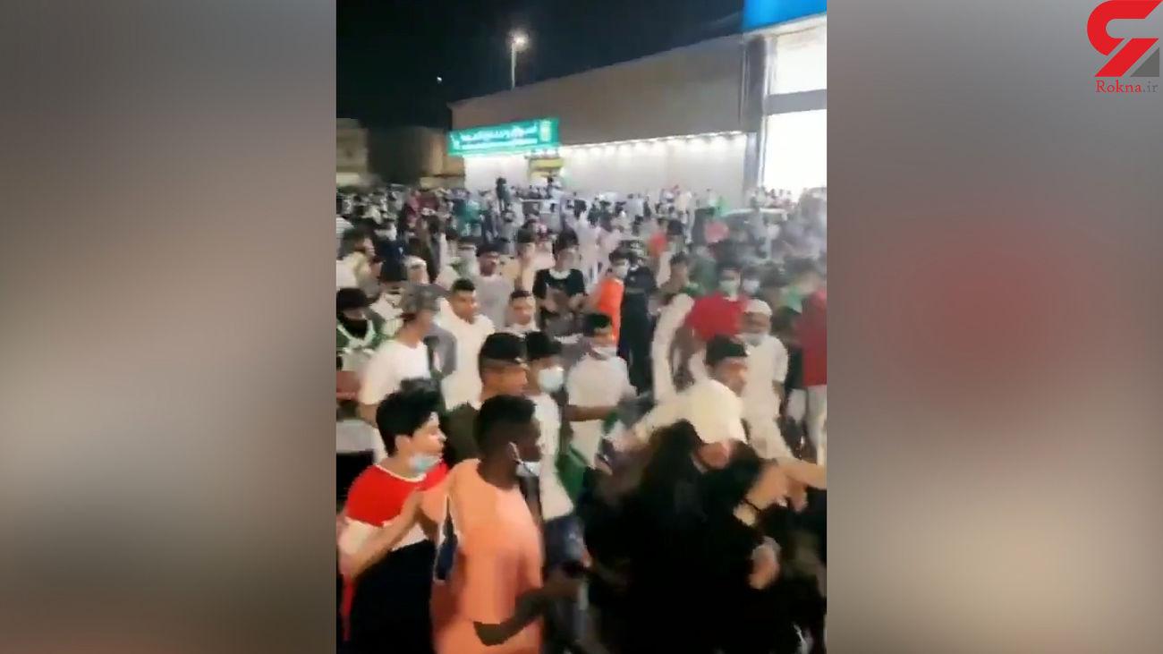 فیلم شکنجه  دختر جوان توسط مردان عربستان وسط خیابان !