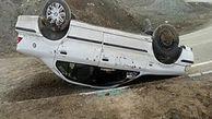 یک کشته و 5 مصدوم حاصل واژگونی سمند در سمنان
