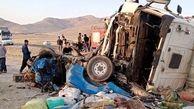 تصادف مرگبار تریلی با ال 90 در زنجان / یک تن در دم جان باخت