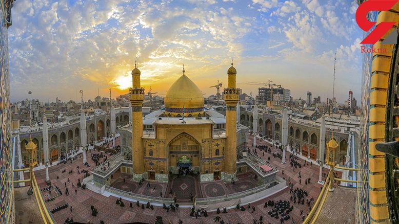 حرم امام علی(ع) در نجف به دلیل پیشگیری از ویروس کرونا بسته شد/ تولیتهای مشهد و قم توجه کنند