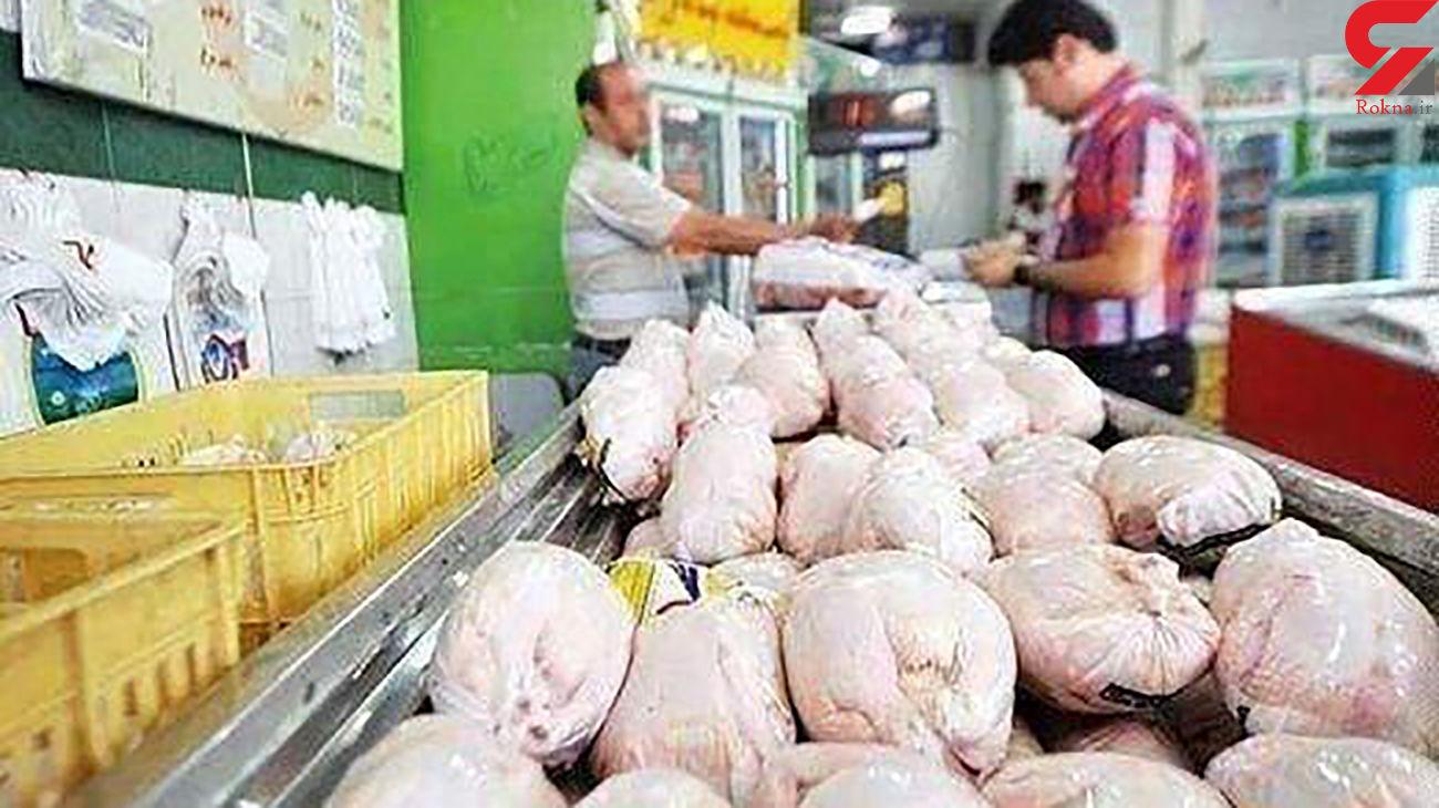 قیمت مرغ در ساوه رکورد زد
