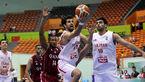 شکست بسکتبالیستهای ایران برابر ژاپن
