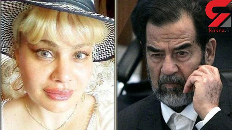 پیدا شدن یک دختر جدید برای صدام حسین / از ترس خواهر ناتنی ام به سوئیس فرار کردم + عکس