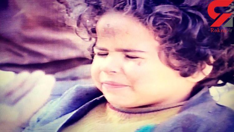خاک صحنه خوردن ملیکا شریفی نیا در 3 سالگی!+فیلم
