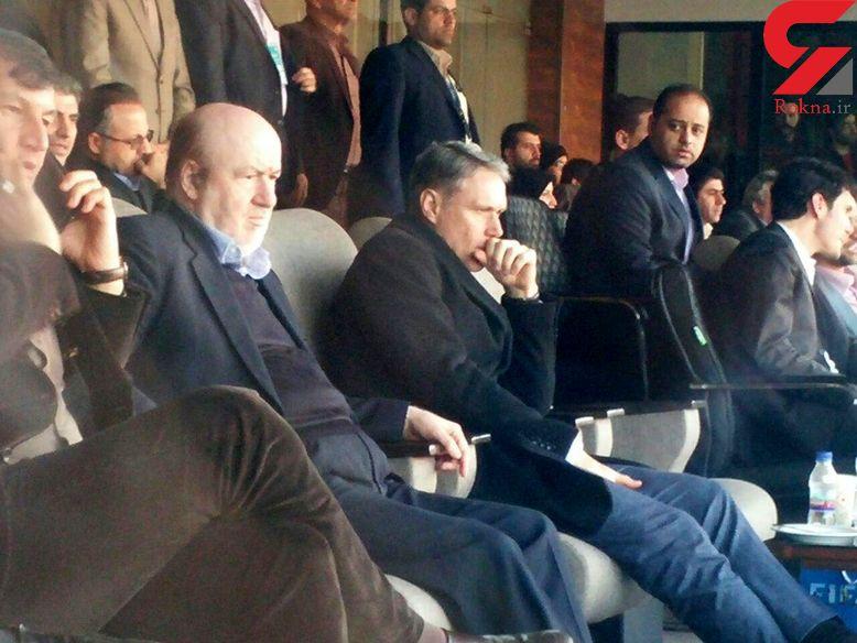 انتقاد مدیر عامل استقلال از عملکرد برخی تماشاگران شهرآورد درحضور اینفانتینو