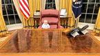 سوژه شدن کوچک ترین نوه ترامپ که شباهت بسیاری به او دارد +عکس