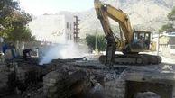 تخریب پل تاریخی بهداری خرم آباد / عوامل شهرداری مجوز نداشتند + عکس