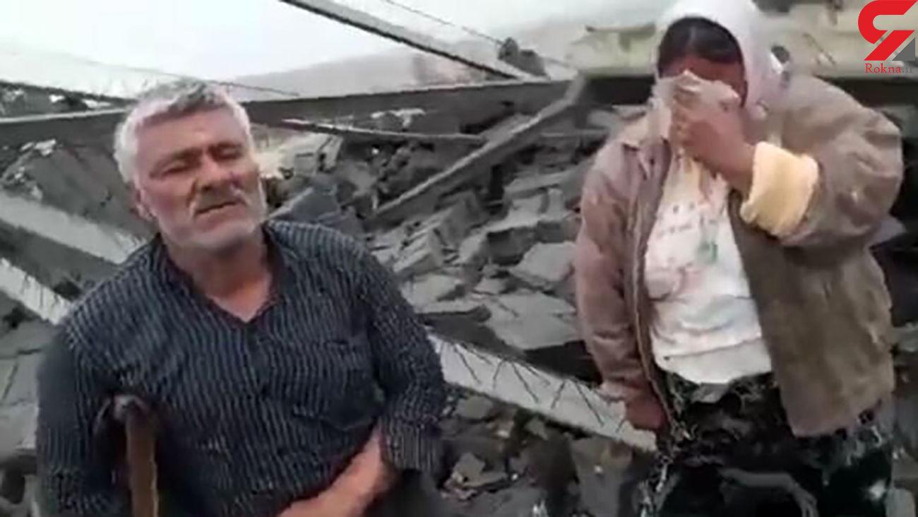 جزئیات تخریب خانه خانواده فسایی / آنها کجا هستند؟! +فیلم گفتگوی اختصاصی