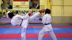 قهرمانی بانوی کاراته کای یزدی در مسابقات قهرمانی کشور