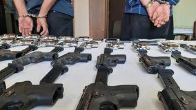 اسلحه فروش تهرانی بازداشت شد
