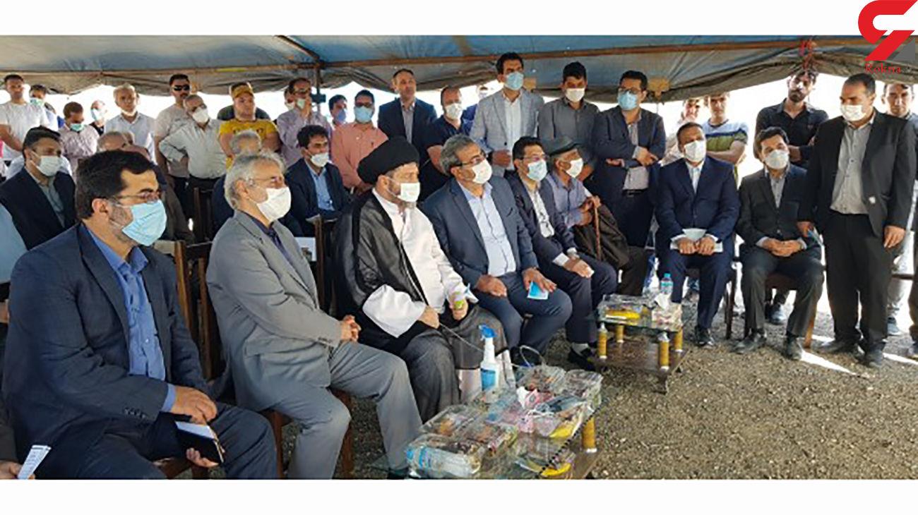 بازدید دکتر نوبخت از طرح های بخش آب و راه آهن استان اردبیل+عکس و فیلم