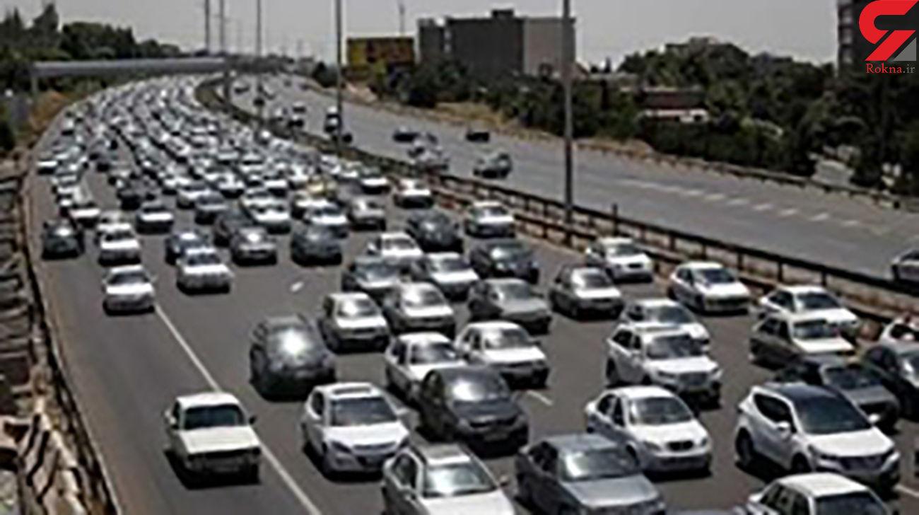ترافیک صبحگاهی در آزادراه های زنجان / وقوع ۵ فقره تصادف در جاده ها