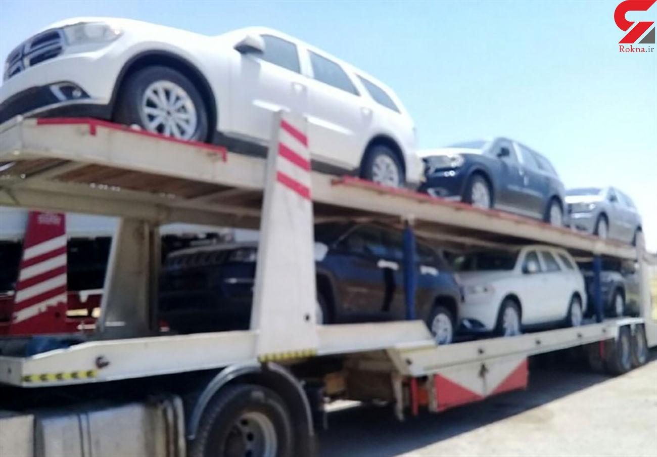توقیف 270 دستگاه وسائط نقلیه متخلف در لارستان