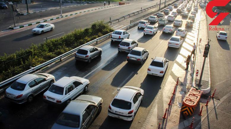 آخرین وضعیت ترافیکی مرزهای سهگانه/ ترافیک نیمهسنگین در مهران