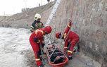 عکس های نجات 2 سقوط کرده در کانال آب امام علی (ع) تهران