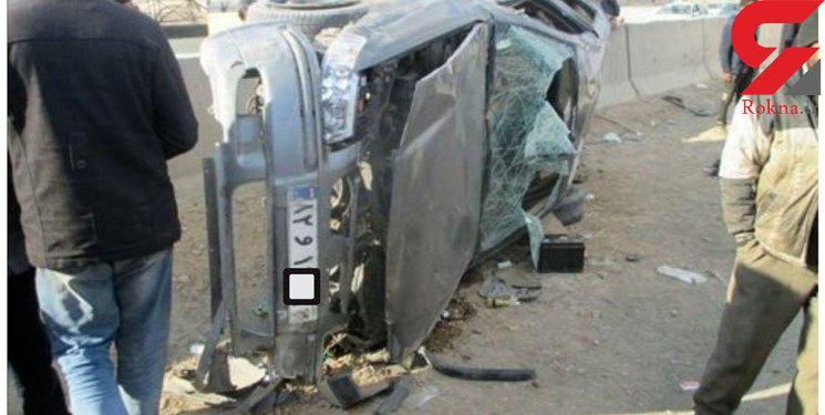 تریلی در شاهین شهر یک فاجعه مرگبار به بار آورد / اجساد قابل شناسایی نیستند+تصاویر