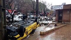 نزن باران که ایران غرق خون است+ تصاویر