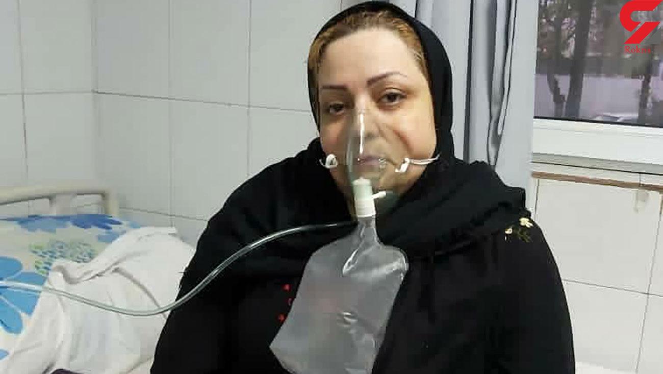 عکس غم انگیز آخرین روزها در بیمارستان / کرونا این خانم معلم نمونه اهوازی را هم با خود برد