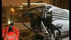 45 کشته وزخمی برا اثر تصادف مرگبار اتوبوس +عکس