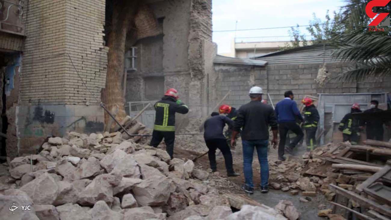 کارگر جوان زنده زنده زیر ساختمان دفن شد + تصاویر