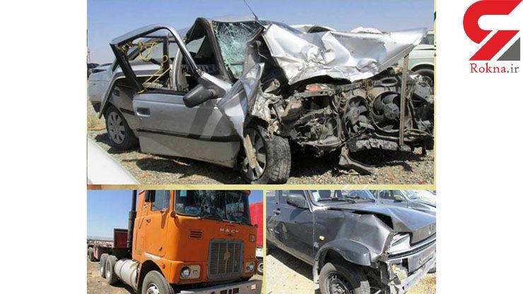 ۳ کشته در تصادف هولناک فریمان