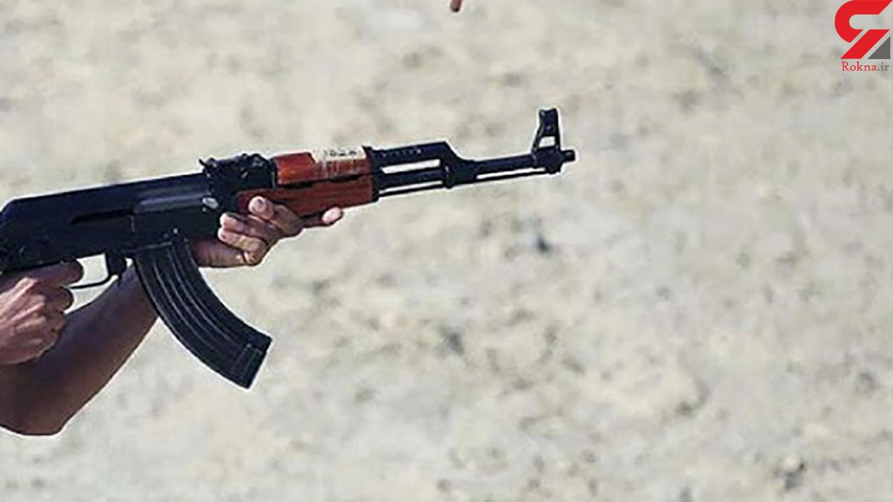 نزاع مسلحانه با یک زخمی در آبادان